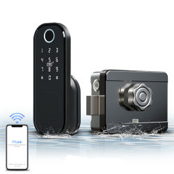 Serratura mobile di telecomando di Bluetooth della serratura dell'impronta digitale di parola d'accesso di protezione del portello