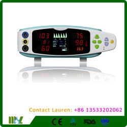 Moniteur portatif de signes vitaux/contrôle (NIBP/SpO2/TEMP) Mslv93L