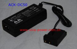 Адаптер питания переменного тока камеры DR-50 для Canon (ACK-DC50)