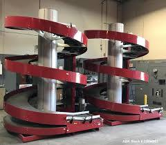 Spirale du convoyeur en spirale du convoyeur d'ingénierie pour les boîtes de convoyeur de gravité en spirale