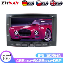 IPSのアンドロイド10.0 Peugeot 3008のための4+64GBスクリーン車のDVDプレイヤーGPS Navi 5008の2009+自動無線のステレオのマルチメディアプレイヤーヘッド単位