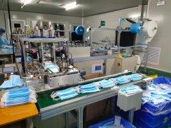 Máscara de protección que hace la máquina Línea de producción totalmente automática