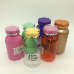Пэт 150cc раунда пустой пластиковый тип расширительного бачка для конфеты/витамин/капсула/кальция упаковки