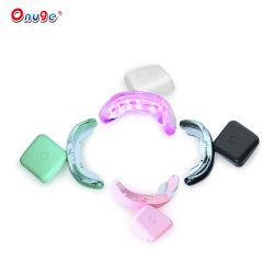 Onuge 스마트 LED 치아 미백 조명 USB 충전식 이빨 미백