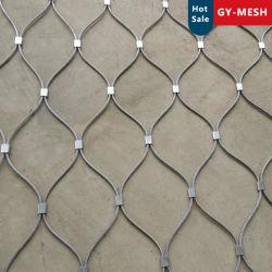 Гибкий тросик из нержавеющей стали сетка зоопарк Mesh/Вольере Mesh/Brid Mesh/декоративной Mesh/Стари-поручни Mesh/сетка безопасности взаимозачет