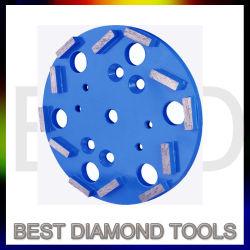 Bonos de metal pulido de diamantes utilizados para la rápida moler Lippage excesivo y desigual piso