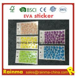 الأحرف اللاصقة EVA الإسفنجية ملصق الحائط وملصق EVA المخصص