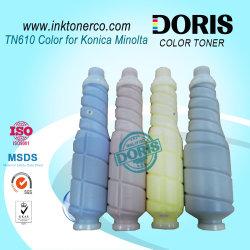 Cartucho de tóner recargables Premium compatible TN610 Japón Tomoegawa para Konica Minolta Bizhub PRO C5500 C6500 Copiadoras color