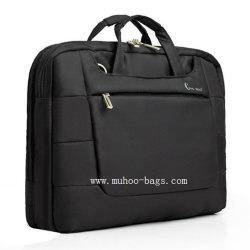 短いハンドバッグ、コンピュータ袋、ラップトップ袋(MH-2043黒)
