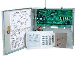 Accueil de la sécurité RTPC GSM Système d'alarme filaire sans fil avec 16 zones câblé (GSM-816-16R)