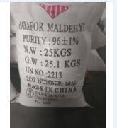 CAS:30525-89-4 Paraformaldehyde 96% 유기 화학 제품