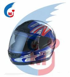 Accesorios de moto casco de motocicleta de ABS/PP