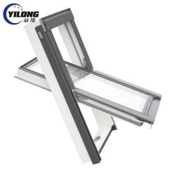 Termpered auf Glasaluminiumoberlicht-Markisen-Fenster-Rahmen zurückgreifen