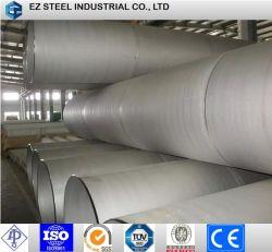 Водопроводная труба из нержавеющей стали сварные трубы линии, большой размер ASTM A312 304 Ss труба для нефти и газа трубопровод