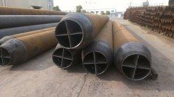 Marine/Offshore Piling Fondation travaille avec longueur spéciale de grand diamètre tuyau en acier soudé en spirale