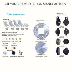 Reloj de pared personalizados accesorios metálicos y el péndulo de reloj