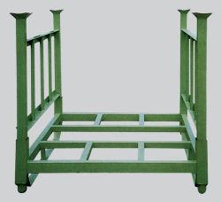 Entrepôt de stockage de palettes en acier rayonnage Wire Mesh cage pour la vente en gros