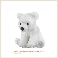 White Bear Plush Urso polar dons de brinquedos para crianças
