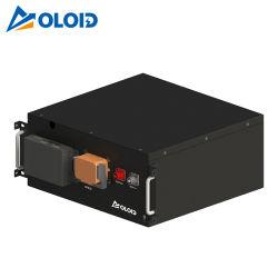 51.2V 깊은 주기 태양 에너지 Li 이온 재충전용 LiFePO4 리튬 UPS 건전지