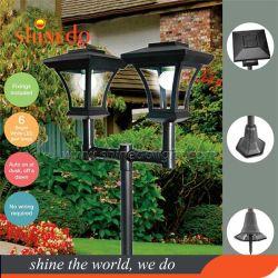 Solarglasziegelstein-im Freien Hof-wasserdichter Montierungs-Halter-Aluminiumlicht für Garten
