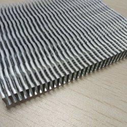 냉각 콘덴서용 알루미늄 자동 예비 부품 열 교환 핀 라디에이터
