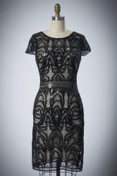 Hot Sale courte col rond Fashion Style robe de soirée