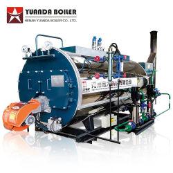 Prix de la Chine Wns 1 1,5 2 3 4 5 6 8 10 12 15 20 25 30 tonnes Tube automatique d'incendie diesel GPL Gaz naturel tiré d'huile de déchets industriels chaudière à vapeur de l'industrie pour la vente
