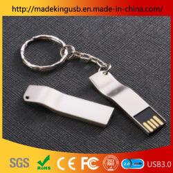 بطاقة USB Flash Stick معدنية دوارة شعار هدية مخصصة ذاكرة محرك أقراص USB محمول
