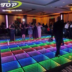 Vertoning van de Tegels van DJ RGB Door sterren verlicht Dance Floor van de Spiegel van de Disco van de magneet 3D