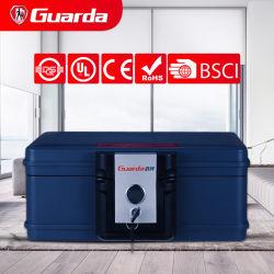 Guarda 30 минут Fire доказательства груди уплотнение водонепроницаемый сейф для B5 размера сертификат или конверты, замок для безопасного