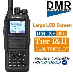 Baofeng DM-1701 plus deux voies double bande Radio Digital dmr jambon Transceiver Station de radio amateur DM-1701 niveau 2 temps double