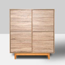 La moderna decoración del hogar al por mayor de 2 puertas armarios muebles chinos
