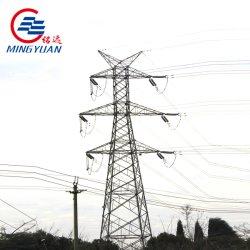 Cubo de la unidad de toma de potencia instalada ancla de la torre de transmisión de energía eléctrica