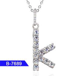 Hip Hop de gros de bijoux en argent Pendentif Zircon cubique 925