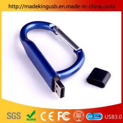 Настраиваемые карабин флэш-накопитель USB 1 ГБ-64ГБ деловых подарков пера USB Memory Stick™