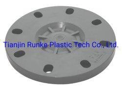 Alta Qualidade flange plástico UPVC flange do tubo UPVC Van Pedra UPVC Flange a flange Ts para abastecimento de água norma DIN