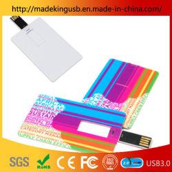 Creative carte plastique Business Card USB Pen Drive/Stick USB