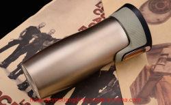 One-Click de Agua Potable de acero inoxidable de doble regalo creativo de vacío de la Copa de la Copa de vacío de la Copa de coche Premium coche personalizado