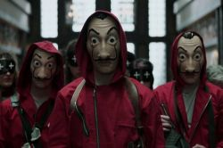 2019 NOVOS Produtos Halloween Cosplay Comtume Masker La Casa De Papel Prensa prop/ Latex Máscara Salvador Dali em fontes de terceiros