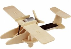 목재 퍼즐 태양열 비행기