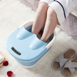 Remoje la circulación sanguínea portátiles de agua de baño de pies Mini masajeador SPA