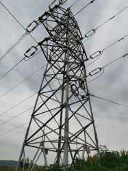 Torretta galvanizzata dell'acciaio di angolo della trasmissione di energia elettrica