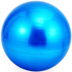 A ioga Bola Anti Insuflável Fitness Formação Burst exercício PVC coloridos Rainbow equipamento de ginásio Ginásio Exercício impresso personalizado a esfera de ioga