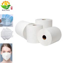 materia prima non tessuta chirurgica del tessuto Bfe95/99 Meltblown di Earloop Meltblown della mascherina 3ply in polipropilene Meltblown Manufactur di risparmio di temi di filtrazione della maschera di protezione del rullo