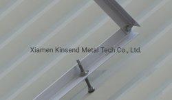 Trépied fixe le support de montage en rack sur Currugated SOLAIRE TOIT, sur le toit de métal, le secteur résidentiel