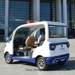 Hot Sale 2 4 places électrique de la rue de type fermé en verre feuilleté petite voiture de patrouille de police avec ce certificat SGS