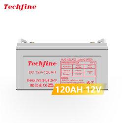12 V 120AH Solar AGM ディープサイクル液式鉛酸バッテリー
