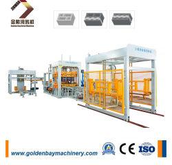 Qualitäts-vollautomatischer Kleber-konkreter Ziegelstein-Block \ Herstellung-Maschine \ automatischer Ziegelstein maschinell zu bearbeiten \ Block-Maschinerie-guter Preis