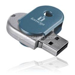 Oval de giro de la unidad Flash USB.