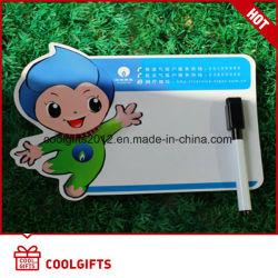 Il commercio all'ingrosso progetta la scheda per il cliente dell'appunto di Whitting della scheda di messaggio del magnete del frigorifero